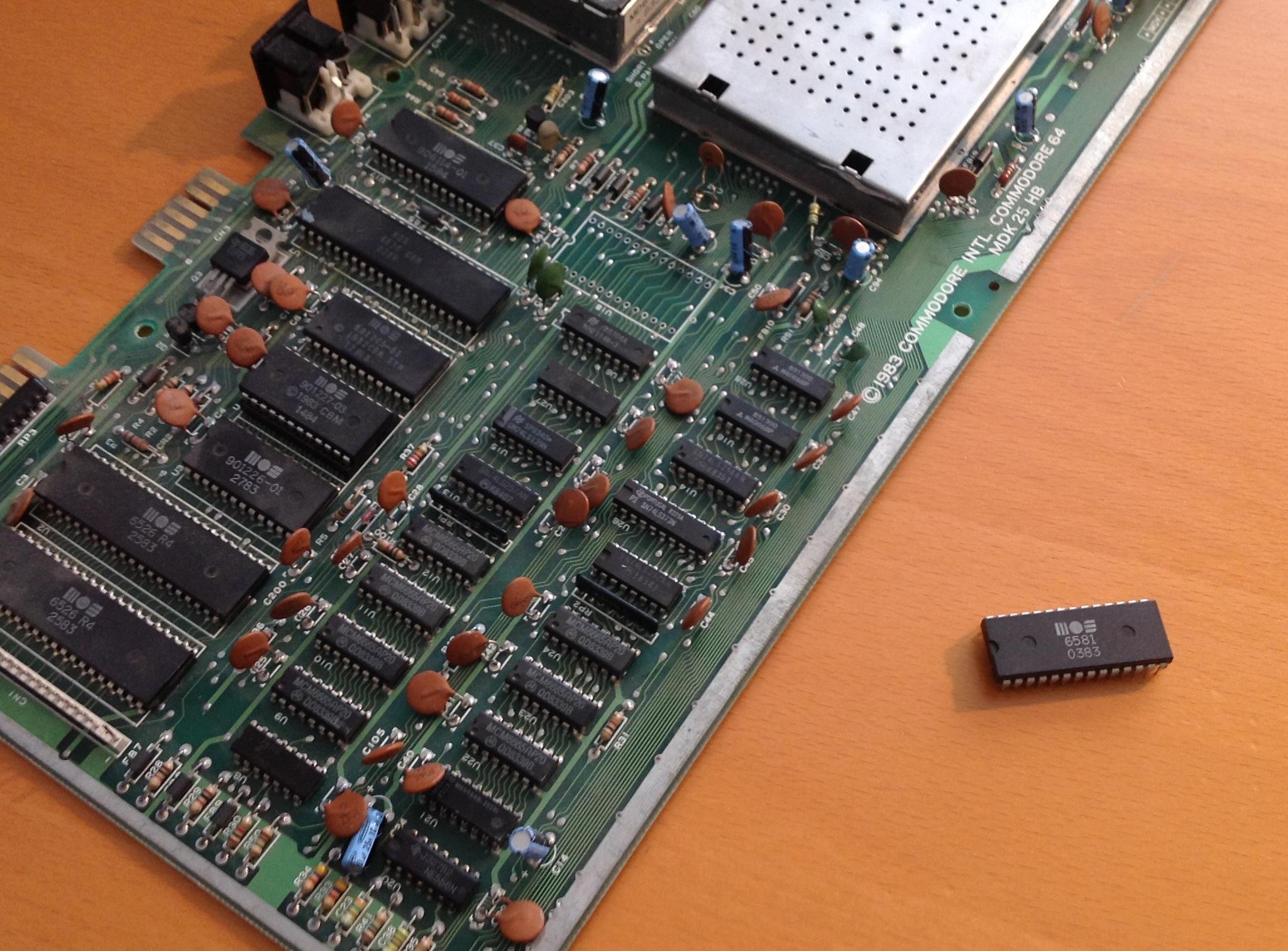 De Blauwe Schicht Commodorecircuitboardclockjpg Atari2usb Schematic